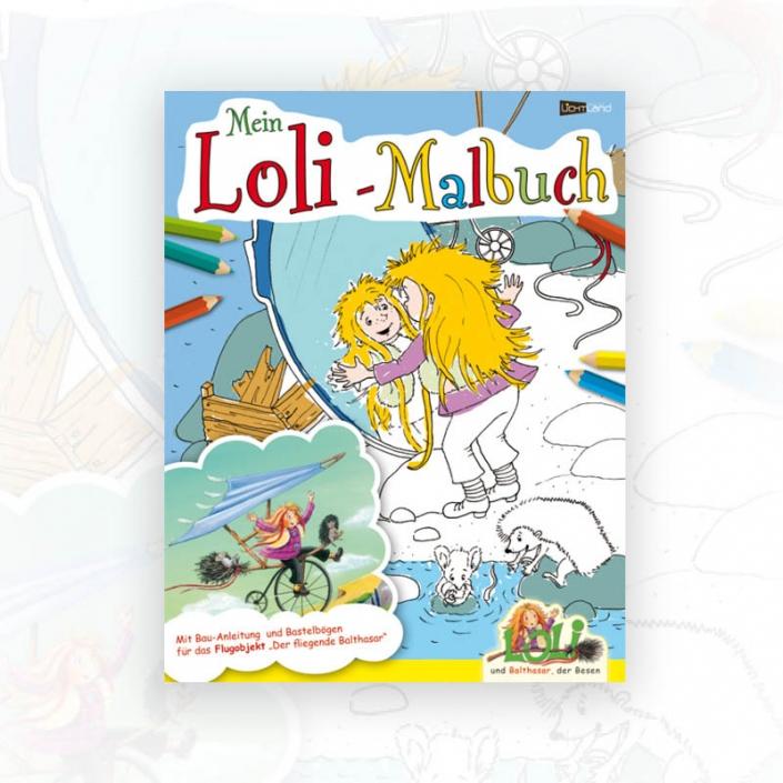 Mein Loli-Malbuch